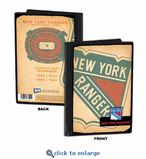New York Rangers 4x6 Photo Album / Brag Book