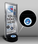 New York Rangers My First Game Hockey Puck Ticket Stand