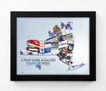 New York Rangers State of Mind Framed Print