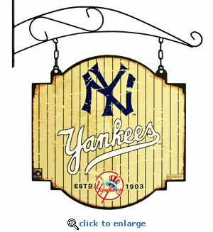 New York Yankees 16 X 16 Metal Tavern / Pub Sign