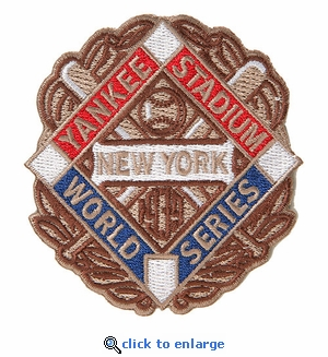 New York Yankees 1939 World Series Champions Commemorative Embroidered Patch