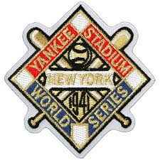 New York Yankees 1941 World Series Champions Commemorative Embroidered Patch