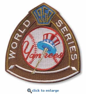 New York Yankees 1950 World Series Champions Commemorative Embroidered Patch