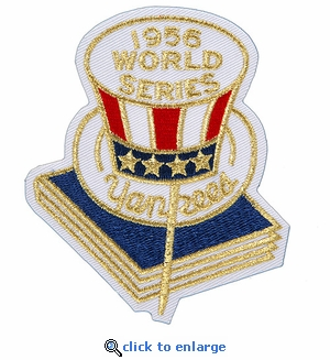 New York Yankees 1956 World Series Champions Commemorative Embroidered Patch