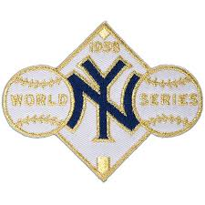 New York Yankees 1958 World Series Champions Commemorative Embroidered Patch