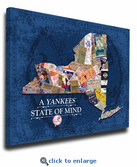 New York Yankees State of Mind Canvas Print