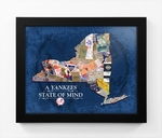New York Yankees State of Mind Framed Print