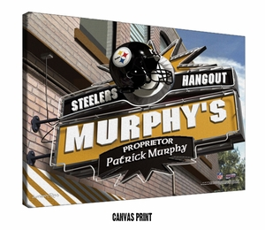 NFL Sports Pub Personalized Prints