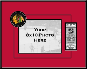 NHL - 8x10 Photo and Ticket Frames