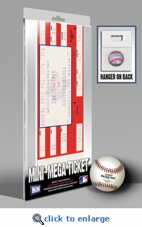 Nolan Ryan 5,000 Strikeout Mini-Mega Ticket - Texas Rangers