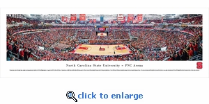 North Carolina State Wolfpack Basketball - Panoramic Photo (13.5 x 40)
