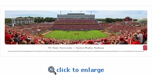North Carolina State Wolfpack Football - Day - Panoramic Photo (13.5 x 40)