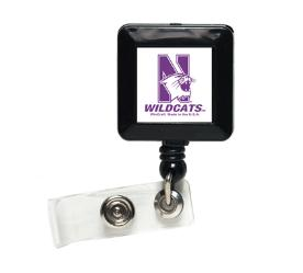 Northwestern Wildcats Retractable Ticket Badge Holder