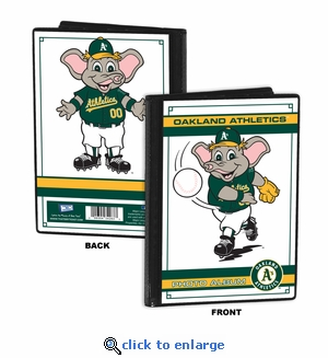 Oakland Athletics Mascot 4x6 Mini Photo Album - Stomper