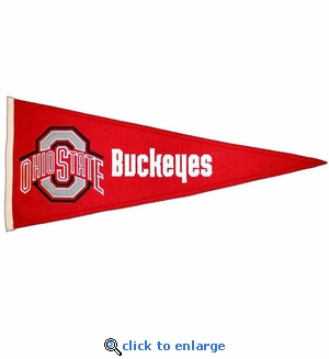 Ohio State Buckeyes Traditions Wool Pennant (13 X 32)