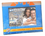 Oklahoma City Thunder Padded Front 4x6 Picture Frame