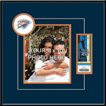 Oklahoma City Thunder 8x10 Photo Ticket Frame