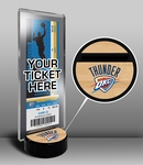 Oklahoma City Thunder Ticket Display Stand