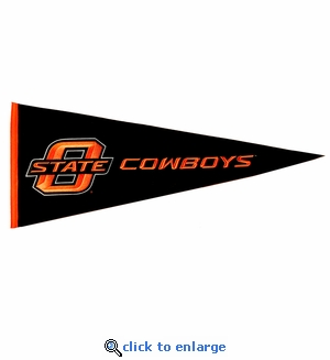 Oklahoma State Cowboys Traditions Wool Pennant (13 X 32)