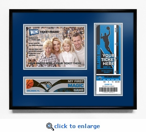 Orlando Magic My First Game 5x7 Photo Ticket Frame