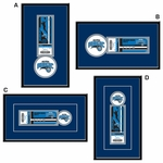 Orlando Magic Single Ticket Frame