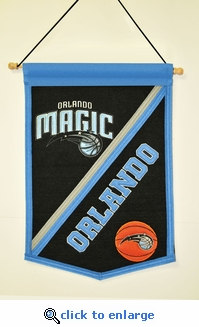 Orlando Magic Traditions Wool Banner (12 x 18)