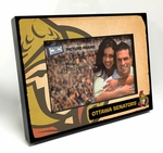 Ottawa Senators Vintage Style Black Wood Edge 4x6 inch Picture Frame