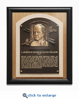 Pat Gillick Baseball Hall of Fame Plaque Framed Print - Executive