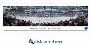 Penn State Nittany Lions Hockey - Panoramic Photo (13.5 x 40)