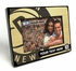 Brooklyn Nets Personalized Black Wood Edge 4x6 inch Picture Frame
