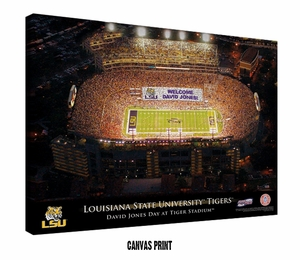 Personalized College Football Stadium Prints