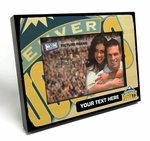 Denver Nuggets Personalized Black Wood Edge 4x6 inch Picture Frame