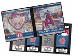 Personalized Los Angeles Angels Ticket Album