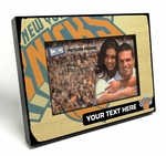 New York Knicks Personalized Black Wood Edge 4x6 inch Picture Frame