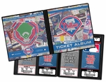 Personalized Philadelphia Phillies Ticket Album