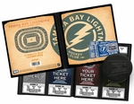Personalized Tampa Bay Lightning Ticket Album - Vintage Design