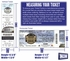 PETCO Park Ticket Frame - Padres