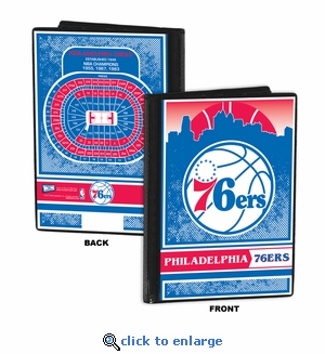 Philadelphia 76ers 4x6 Photo Album / Brag Book
