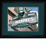 Philadelphia Eagles Personalized Sports Room / Pub Print