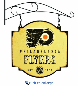 Philadelphia Flyers 16 X 16 Metal Tavern / Pub Sign