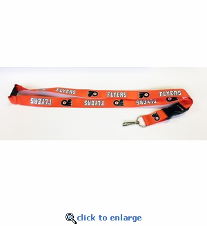 Philadelphia Flyers NHL Lanyard Key Chain with Ticket Holder