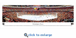 Philadelphia Flyers - Panoramic Photo (13.5 x 40)