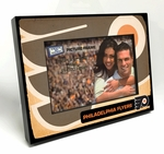 Philadelphia Flyers Vintage Style Black Wood Edge 4x6 inch Picture Frame
