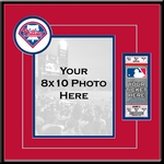 Philadelphia Phillies 8x10 Photo Ticket Frame
