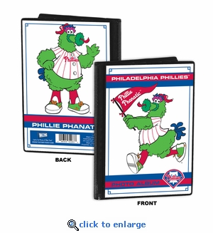 Philadelphia Phillies Mascot 4x6 Mini Photo Album - Phillie Phanatic