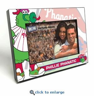 Philadelphia Phillies Mascot 4x6 Picture Frame - Phillie Phanatic