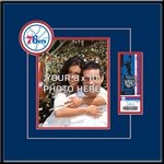 Philadelphia Sixers 8x10 Photo Ticket Frame
