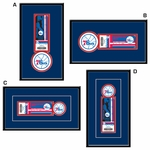 Philadelphia Sixers Single Ticket Frame