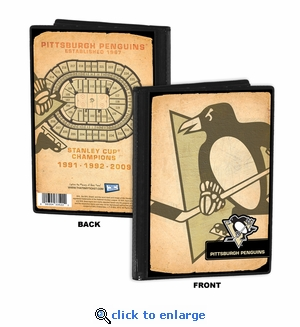 Pittsburgh Penguins 4x6 Photo Album / Brag Book