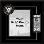Pittsburgh Penguins 8x10 Photo Ticket Frame